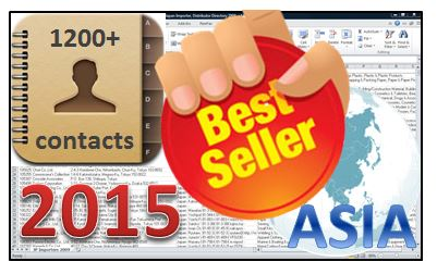 1200+ ASIA Food&Beverage IMPORTERS List 2015